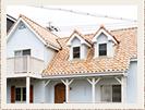 屋根 S型瓦葺き