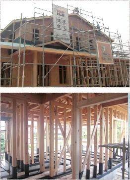 木造軸組工法(在来工法)