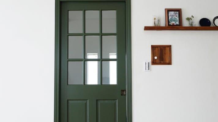 無垢の床材・ドア