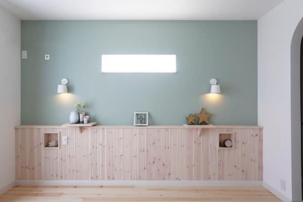 北欧カラーでまとめたナチュラルな寝室